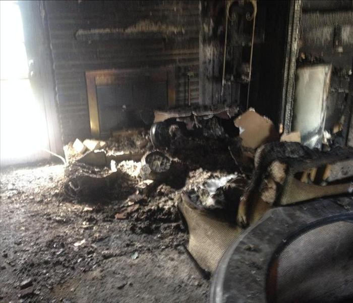 Home Fire Damage Restoration Tulsa Home Before