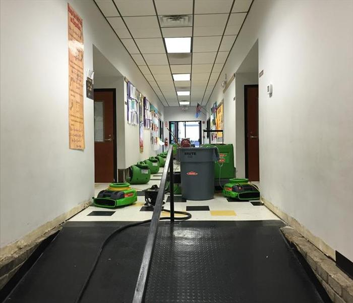 Tulsa Flood Damage & Rain Damage at School  After
