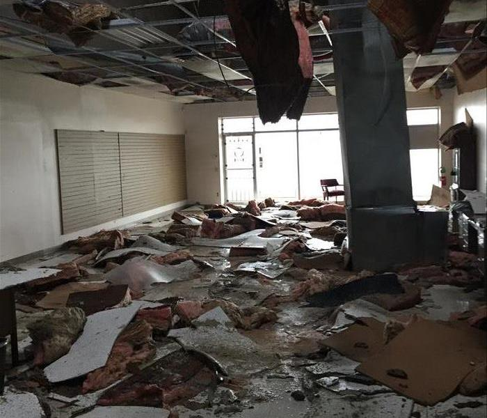 Commercial Ceiling Collapse