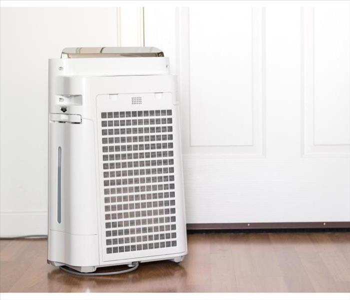Air purifier machine in a house