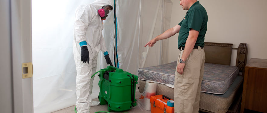 Tulsa, OK mold removal process